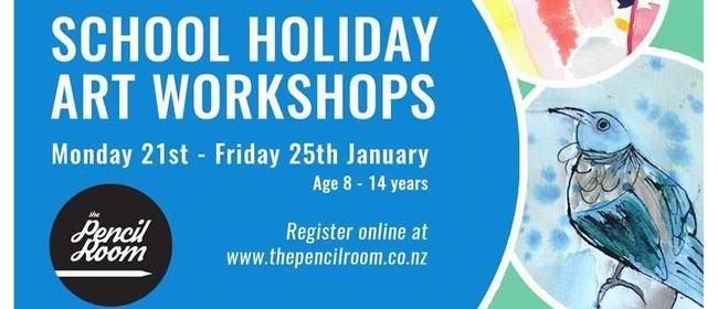 School Holiday Programme - Children's Fine Art Workshops