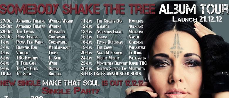 Mihirangi - Somebody Shake the Tree Album Tour