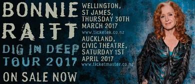 Bonnie Raitt Dig in Deep Tour NZ 2017