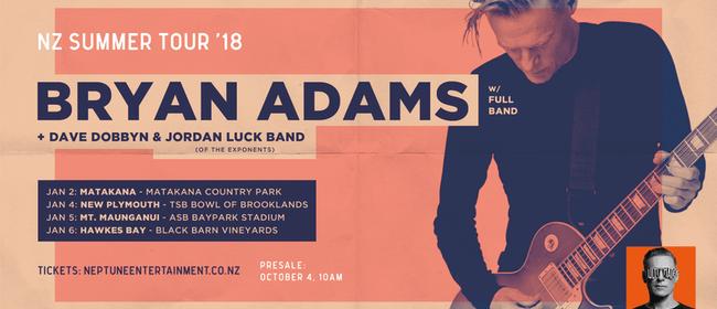 Bryan Adams Tour 2017