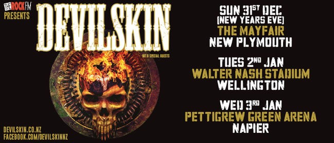 Devilskin New Year 2018 Tour