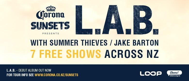Corona Sunsets L.A.B Tour