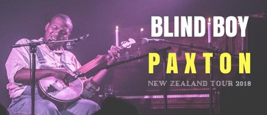 Blind Boy Paxton NZ Tour