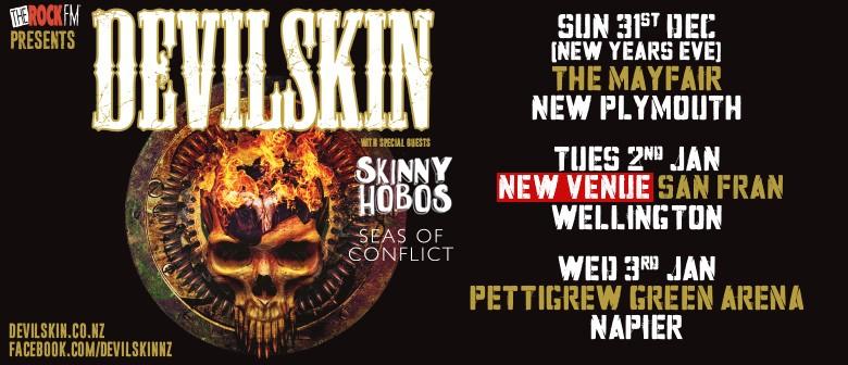 Devilskin New Year 2018 Tour