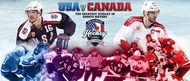 2018 Ice Hockey Classic - USA v Canada