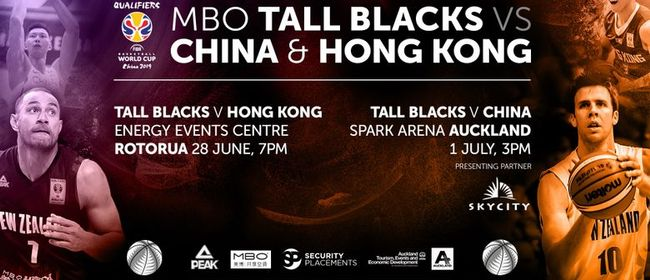MBO Tall Blacks vs China & Hong Kong