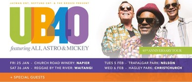 UB40 Ft. Ali, Astro & Mickey – The 40th Anniversary Tour
