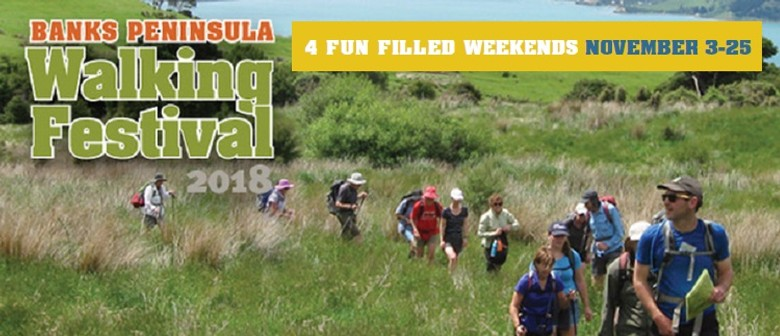 Banks Peninsula Walking Festival 2018