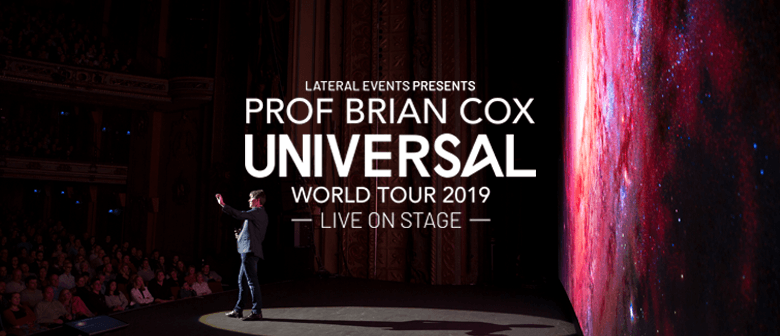 Professor Brian Cox – Adventures in Time and Space