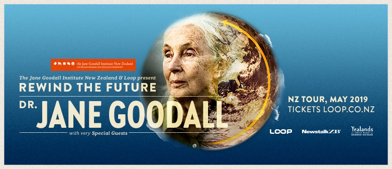 Dr Jane Goodall in NZ