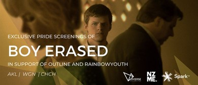 Boy Erased - Movie Fundraiser