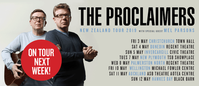 The Proclaimers - New Zealand Tour May 2019