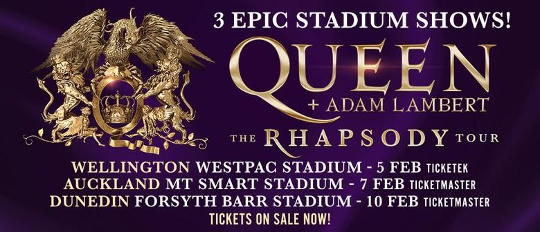 Queen + Adam Lambert - The Rhapsody Tour 2020