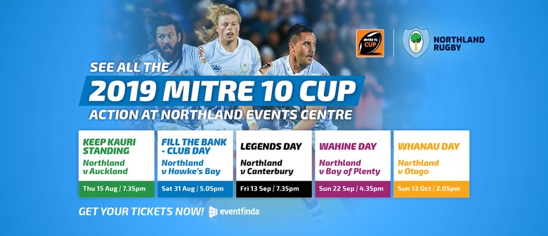 2019 Mitre 10 Cup – Northland Home Games