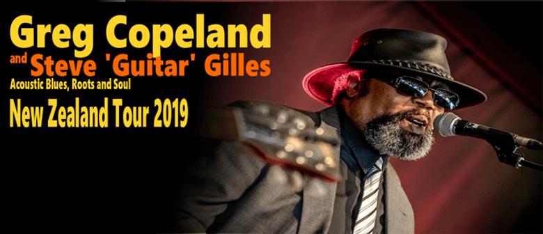 Greg Copeland and Steve Gilles NZ Tour 2019