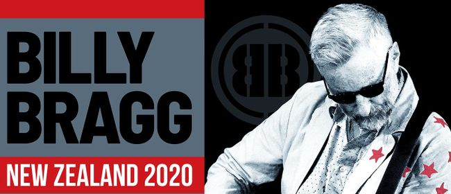 Billy Bragg South Island Shows 2020