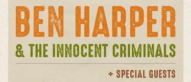 Ben Harper and The Innocent Criminals New Zealand Tour 2020