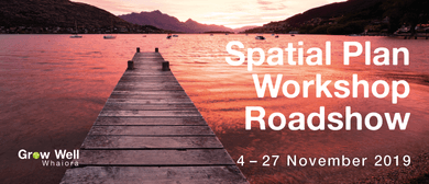 Spatial Plan Workshop Roadshow