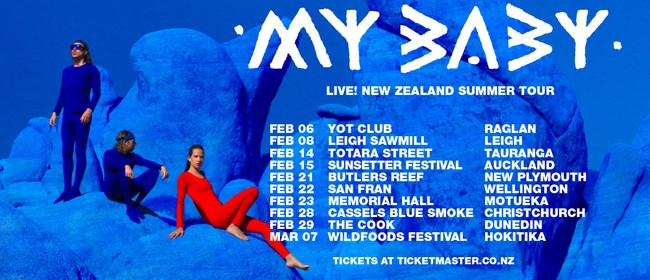My Baby Live! New Zealand Summer Tour