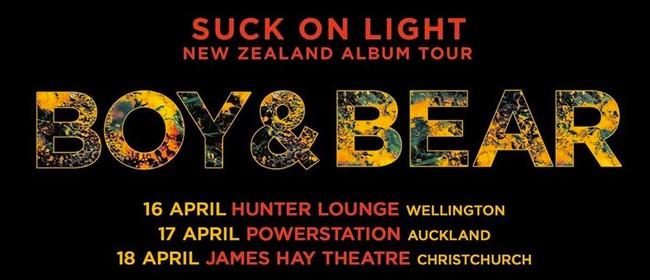 Boy & Bear – Suck On Light Tour 2020