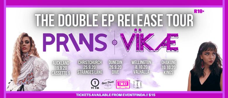 The Double EP Release Tour w PRINS & VÏKÆ