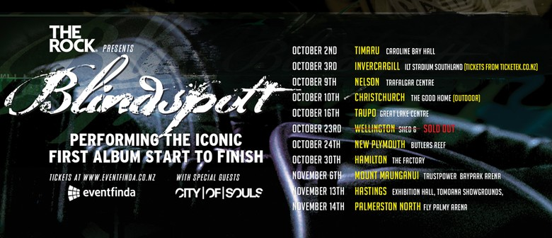 Blindspott - NZ Tour