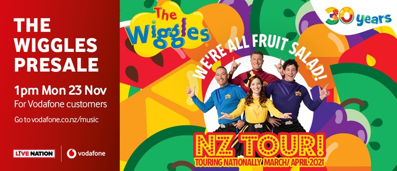 The Wiggles 'We're All Fruit Salad' 2021 Tour