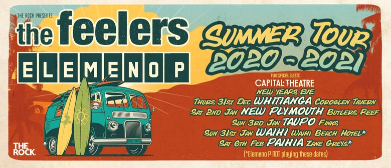 The Feelers & Elemeno P - Summer Tour 2021