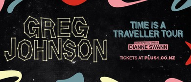 Greg Johnson - Time Is A Traveller winter tour