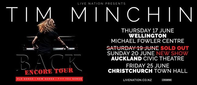 Tim Minchin - BACK - NZ Tour 2021