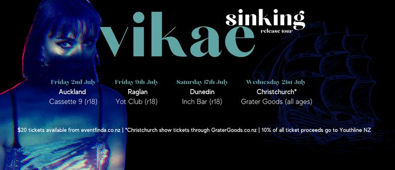 Vikae - Sinking Single Release Tour