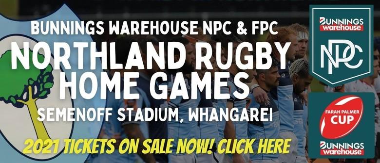 Northland Rugby Union - Bunnings Warehouse NPC