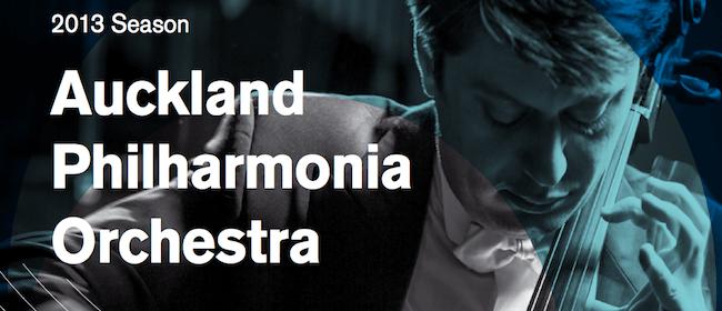 Auckland Philharmonia Orchestra 2013 Season