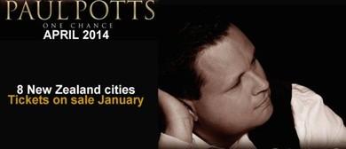 Paul Potts - One Chance Tour