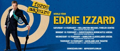 Eddie Izzard - Force Majeure NZ Tour