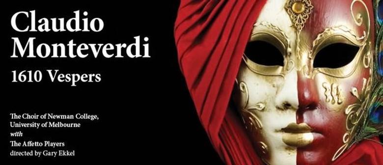Claudio Monteverdi 1610 Vespers