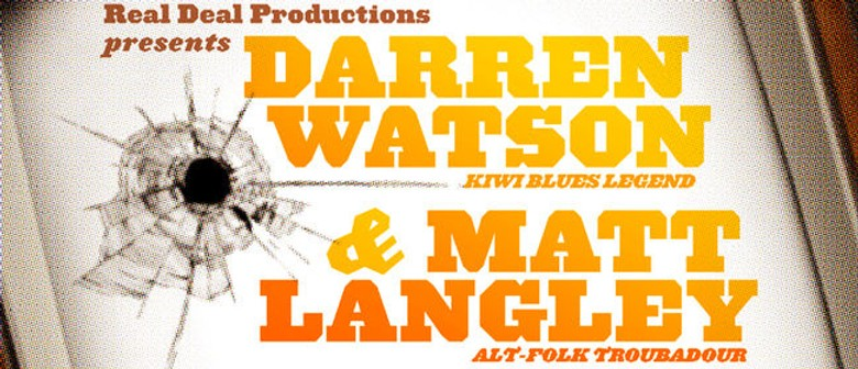 Darren Watson & Matt Langley - Shoot Your Television Tour