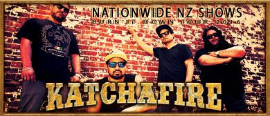"Katchafire ""Burn it Down"" 2016 NZ Tour"
