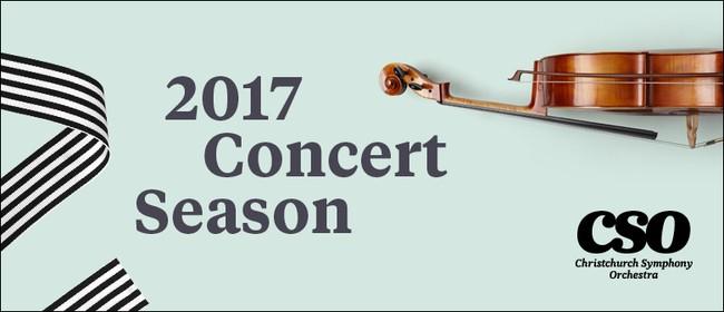Christchurch Symphony Orchestra 2017 Season