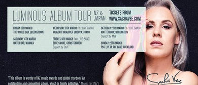 Sacha Vee – Luminous Album Tour