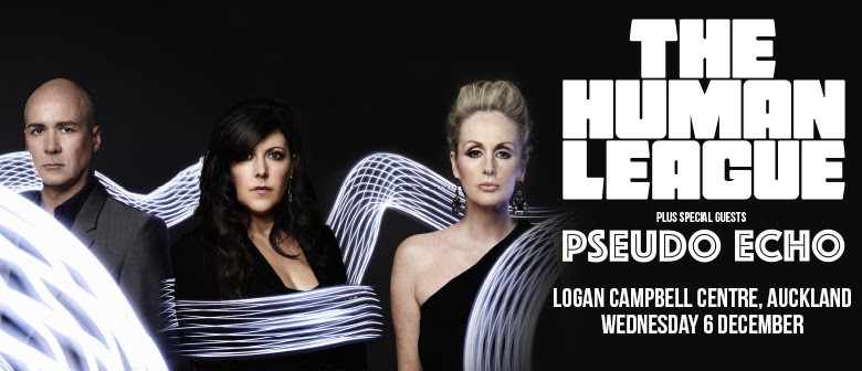 UK synth-pop pioneers The Human League will hit Auckland this December