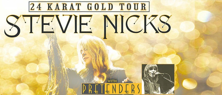Rock superstar Stevie Nicks brings 24 Karat Gold Tour to NZ this November