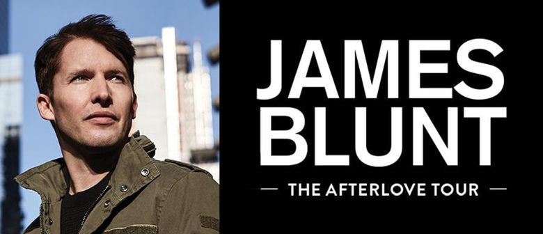 James Blunt steps on NZ shores next year for The Afterlove Tour