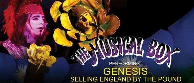 The Musical Box Play to tour NZ next year in celebration of Genesis' 50th anniversary