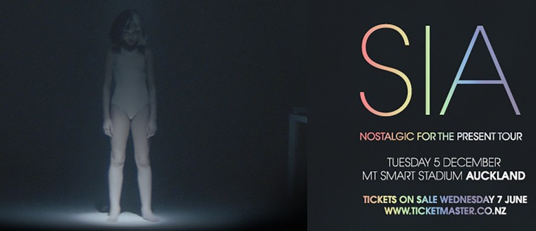 Sia hits NZ shores for the first time this December