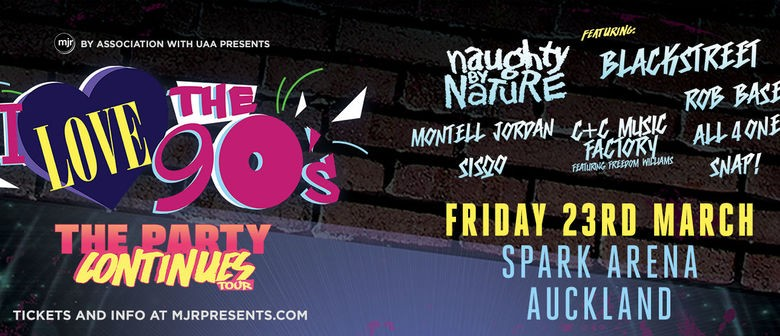 I Love The 90's: The Party Continues tour returns to New Zealand next year