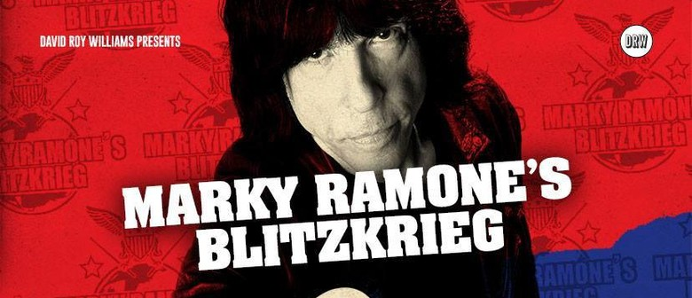 Marky Ramone's Blitzkrieg is coming to NZ shores next month