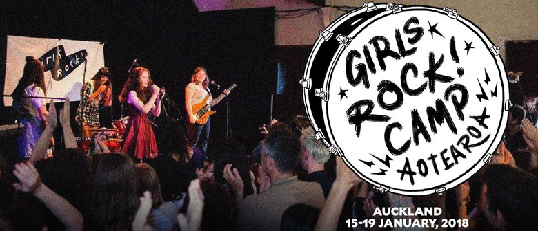 Girls Rock! Camp Debuts In NZ This January 2018