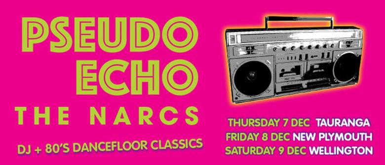 Pseudo Echo And The Narcs Bring A Very 80s Xmas This December
