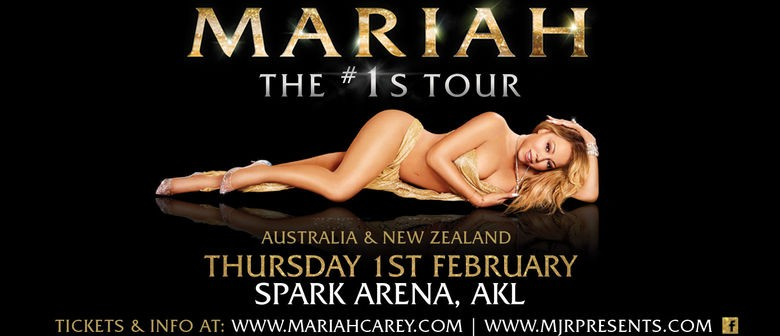 Mariah Carey hits New Zealand for a one-off show in February 2018